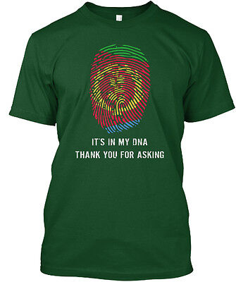 Eritrea Dna S Its In My Thank You For Asking Hanes Tagless Tee T Shirt