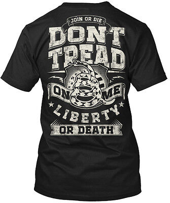 Dont Tread On Me  Mp  Join Hanes Tagless Tee T Shirt