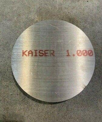 1 Aluminum Disc X 4 Diameter Circle Round 6061 Aluminum