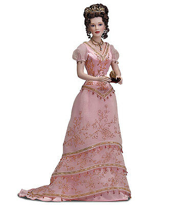 FABERGE Doll Princess Sofia Porcelain w/FABERGE EGG +COA NRFB NIB FRANKLIN MINT , used for sale  Anniston