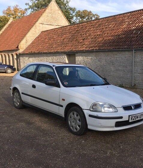 Honda Civic 1.4 'R' Reg white Petrol