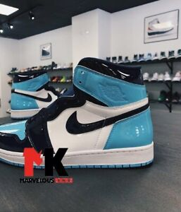 f18b6fbca6e9 AIR JORDAN UNC PATENT LEATHER ALL SIZES