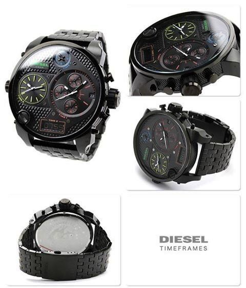 Diesel Big Daddy DZ7266 Watchin Hull, East YorkshireGumtree - Great size watch, very fashionable and stylish Comes in original box. Needs new battery for the digital clock. Minor wear marks