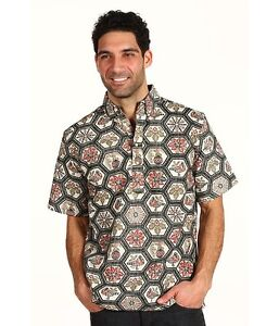 REYN SPOONER SHIRT  CHRISTMAS 2012 CLASSIC NEW  MELE KALILIMAKA LIMITED ISSUE