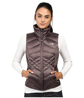 New North Face Women's Aconcagua Vest Down Insulated - Rabbit Grey - SMALL