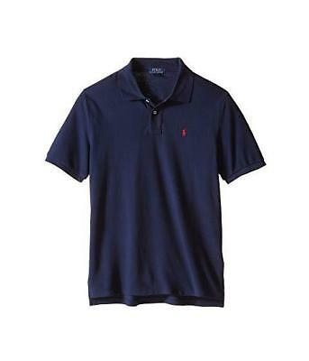- Ralph Lauren Kids Polo Shirt Boys French Navy w/Red pony   choose size