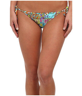 - Women's Trina Turk Coral Reef Tie Side Hipster Bottom in Multi Color Size 8