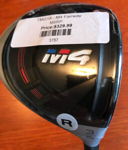 M4  3  Wood  LEFT HAND - TaylorMade  (NEVER used)
