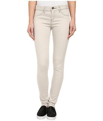 NWT $49 Billabong Peddler Pant Skinny Jeans Stretch Denim Seal Grey Size 26