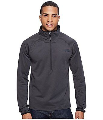 New Mens The North Face Borod Quarter Zip Jacket Top Black Blue Grey Green