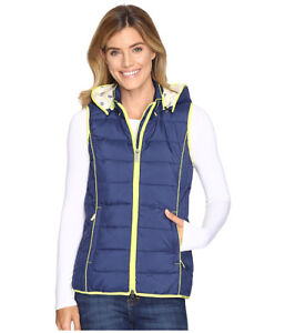 NWT HATLEY INSULATED VEST WITH HOOD WOMENS MEDIUM