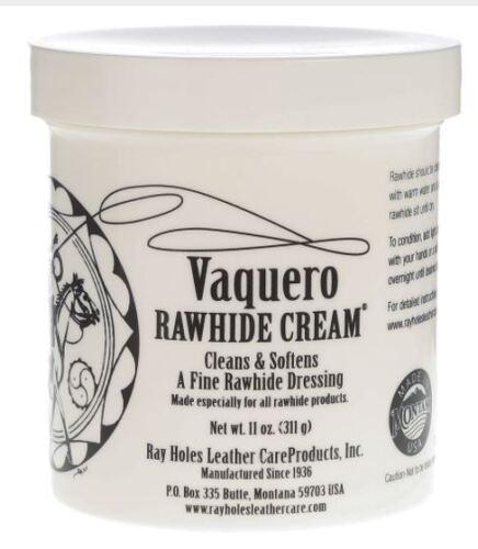 VAQUERO RAWHIDE CREAM 11 OZ. - VRP01
