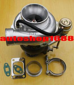 GT35 GT30 GT3582 Turbine A/R .63 Com A/R .70 T3 oil v-band TURBO TurboCharger