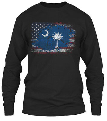 South Carolina Usa Gildan Long Sleeve Tee -
