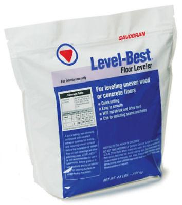 Savogran 12832 Level-Best Floor Leveler & Repair, 4.5