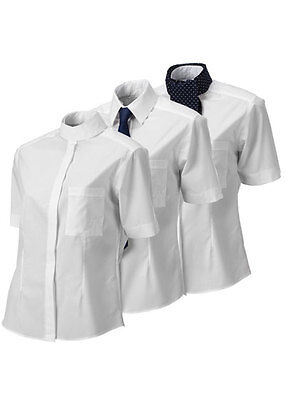 Horse Riding Competition 3 in 1 Shirt -  Size 16 - White - Equetech (was £37.35)