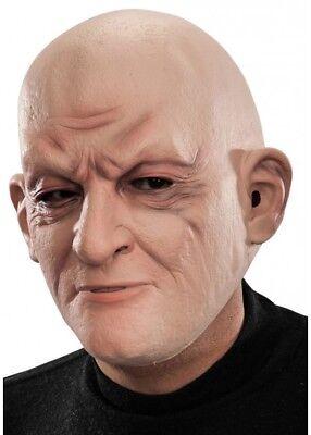 Realistische Alter Mann Maske Herren Verkleidung Kostüm Glatzköpfig Grumpy - Realistische Kostüm
