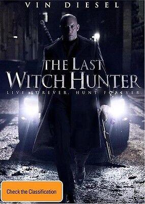 Last Witch Hunter, The (DVD) (Region 4) Aussie Release