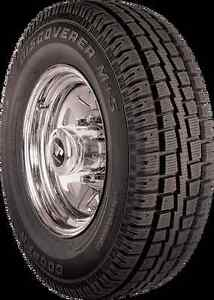 4 cooper discover winter tires P265/70/17
