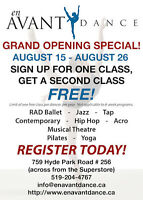 2 FOR 1 DANCE CLASSES *** EXTENDED TO AUGUST 26!!! ***