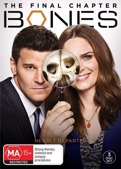 BONES - Season 12 : FINAL : NEW DVD