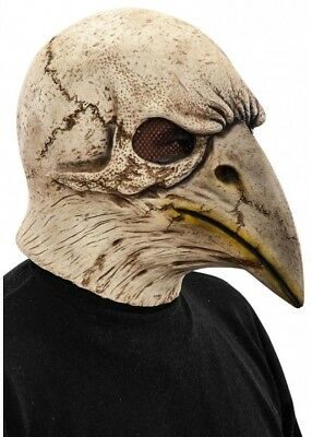 Plague Doctor Crow Skull Mask Halloween Day Of The Dead Fancy Dress Bird - Crow Skull Mask