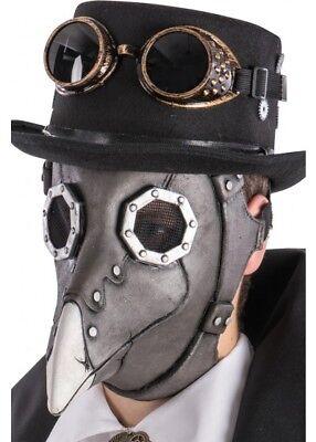 Pest Arzt Dr. Krähe Steampunk Maske Halloween Horror Face Maskenkostüm