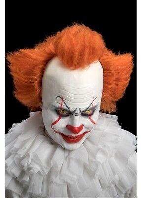 Neu Pennywise Clownperücke Kostüm Stephen des Königs It Braun Synthetische - Haar Clown Kostüm