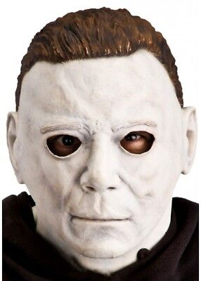 H2 Michael Myers Mask Latex Full Head Halloween Deluxe adult size Fancy Dress