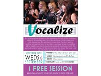 Vocalize - A new Community Choir starting in Didcot needs singers!