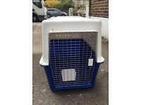 LARGE SKY KENNEL / DOG CRATE