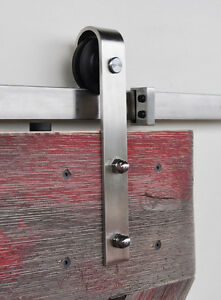 Complete sets of easy to install soft close barn door hardware St. John's Newfoundland image 8