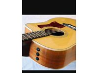 Taylor 214ce Koa acoustic guitar.