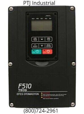 5 Hp Vfd Drive Inverter 230 Volt 3 Phase Teco Westinghouse F510-2005-c3-ue
