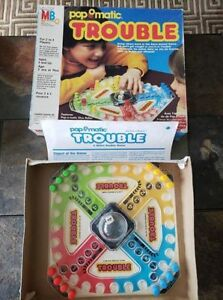 Vintage 1986 TROUBLE Board game - complete