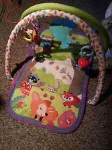 fisher price owl baby playmat, new condition..firm price