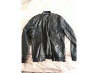 NEXT Gents Leather jacket coat medium