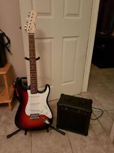New condition guitar and amp