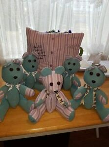 Memory Teddy's and Pillows