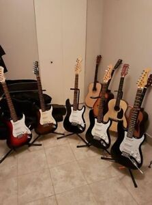 5 electric guitars for sale