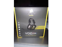 Corsair VOID Wireless RBG used once perfect condis