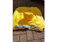 Swim safe baby swim support