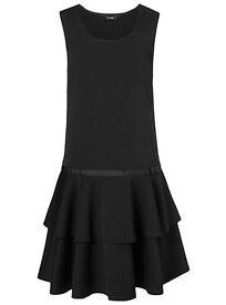 School uniform black Ra-Ra Pinafore for 6-7 years. VGC!