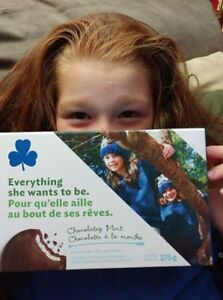 Girl Guides Cookies - Chocolatey Mint - yummy!