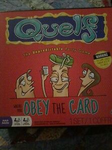 Boardgame: Quelf ($10 or best offer)