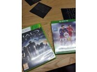 fifa 16 for xbox one and halo reach for 360