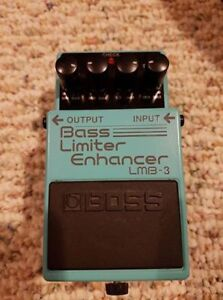 Boss Bass Limiter Enhancer LMB-3 Stompbox