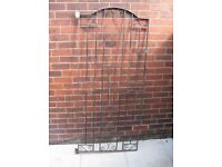used cast iron gate still in good conditon