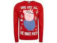 Peppa Pig Christmas Jumper (Medium)