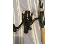 Nash scope 9ft 1.75 rod Shimano reel 5010